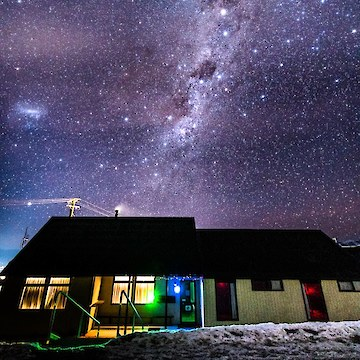 Southland Ski Club Lodge Milky Way